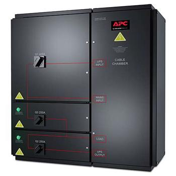 APC Symmetra PX 96/160KW Value Wall-mounted Maintenance Bypass Panel, 400V