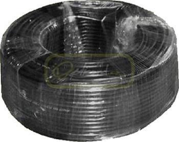 FTP kabel (drát) Cat6 Outdoor černý -40 - 70°C, Double Jacket, metráž na přání