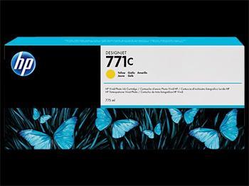 HP B6Y10A No. 771C Yellow Ink Cart pro DJ Z6200/Z6600/Z6800, 775 ml