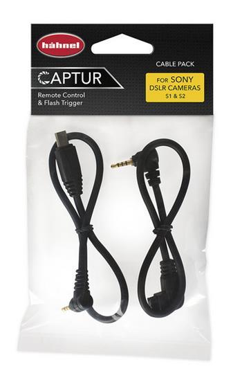 Hähnel Cable Pack Sony- kabely pro připojení Captur Pro Modul/Giga T Pro II
