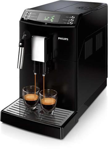 Philips HD8831/09 Kávovar Minúta CLASSIC BLACK sa šľahačom mlieka