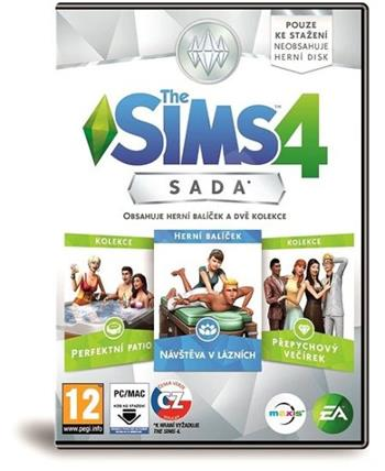 Electronic Arts PC hra The Sims 4 Bundle Pack