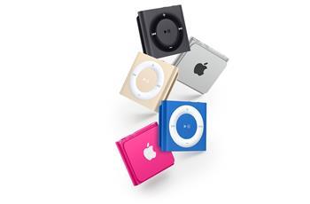 Apple iPod shuffle 2GB - White & Silver