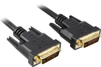 PremiumCord DVI-D propojovací kabel,dual-link,DVI(24+1),MM, 25m