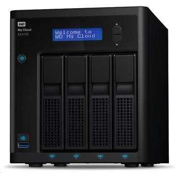 WD My CLOUD EX 4100, 24 TB (4x6TB) 3,5