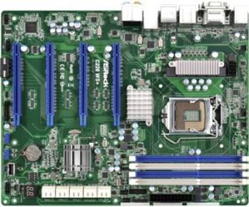 ASRock C226 WS+, C226, s.1150, 4xDDR3, 4xSATAIII, PCIe 3.0 x16, VGA, HDMI, 4xUSB 3.0