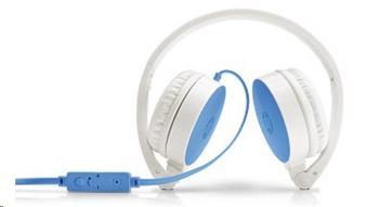 HP Náhlavní souprava H2800 modrá