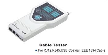 Univerzální Tester RJ12,RJ45,USB,BNC