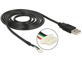 Delock Module Cable USB 2.0 A male > 5 pin camera plug V5 1.5 m