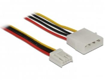 Delock Cable Power 4 pin male > 4 pin floppy female 60 cm