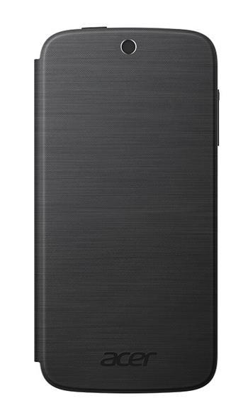Flip Cover pro telefon Acer Liquid Z330/M330, tmavě šedý