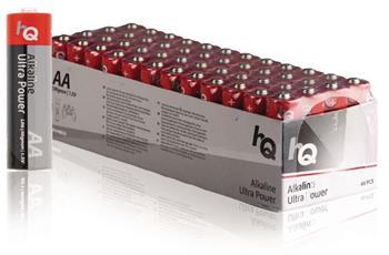 HQ AA Ultra Power, alkalická baterie AA (LR6) - 48 ks, box