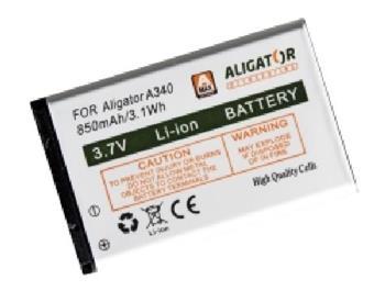 Aligator Baterie A340/A310/A311/V600, Li-Ion 850 mAh