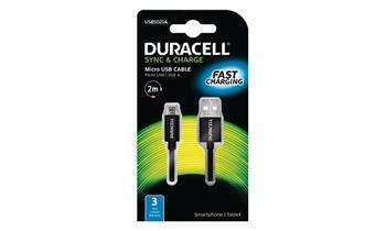Duracell - napájecí a synchronizační kabel pro Micro USB zařízení 2m