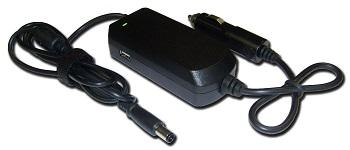 Autoadaptér pro DELL 90W, 19.5V, 5.0x7.4, USB