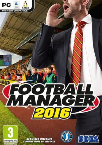 Sega PC hra Football Manager 2016