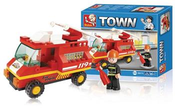 Sluban M38-B0173 - Fire Truck