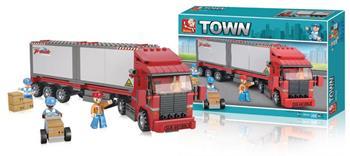 Sluban M38-B0338 - Container Truck