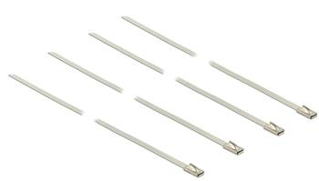 Delock dvacet kusů stahovacích pásků z nerezové oceli L 350 x W 4.6 mm