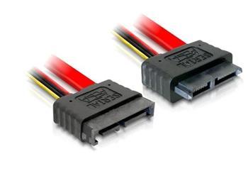 Delock Prodlužovací kabel Slim SATA samec > samice 50 cm