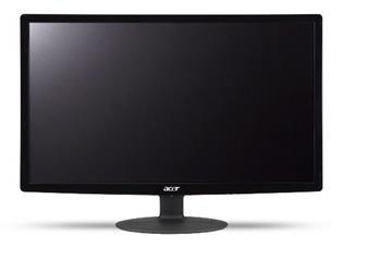 """Acer LCD S230HLBbd, 58cm (23"""") LED 1920 x 1080, 100M:1, 200cd/m2, 5ms, VGA, DVI, Black, EcoDisplay"""