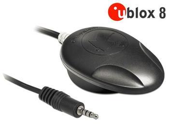 Navilock NL-8009T Stereo Jack TRRS TTL Multi GNSS přijimač u-blox 8 5 m