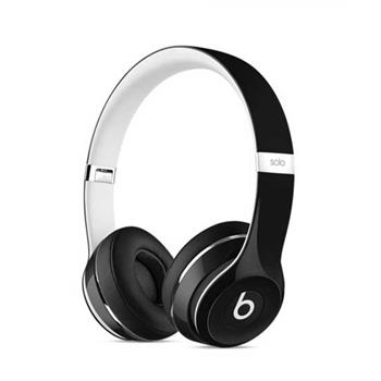 Apple Beats by Dr. Dre Solo2 On-Ear Headphones Luxe Edition - Black