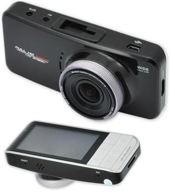 CEL-TEC E08s GPS - palubní kamera do auta 1080p, microSD/SDHC, WDR, 2.7