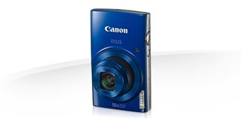 Canon IXUS 180 BLUE - 20MP, 10x zoom, 24-240mm, 2,7