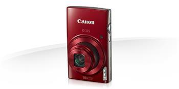 Canon IXUS 180 RED - 20MP, 10x zoom, 24-240mm, 2,7