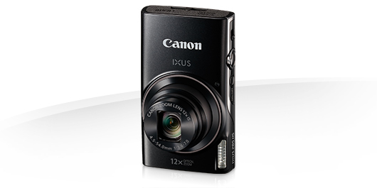 Canon IXUS 285 HS BLACK - 20MP,12x zoom,25-300mm,3,0