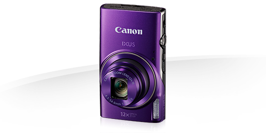 Canon IXUS 285 HS PURPLE - 20MP,12x zoom,25-300mm,3,0