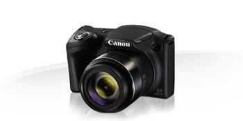Canon PowerShot SX420 IS BLACK - 20MP, 42x zoom, 24-1008 mm, 3,0