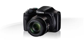 Canon PowerShot SX540 HS, Black - 20MP, 50x zoom, 24-1200mm, 3