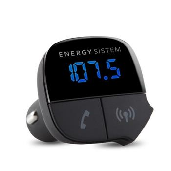 ENERGY Car Transmitter Music Bluetooth, Bluetooth 2.1, 7-segmentový LED displej