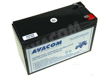 AVACOM Náhradní baterie (olověný akumulátor) 12V 8Ah do vozítka Peg Pérego F2