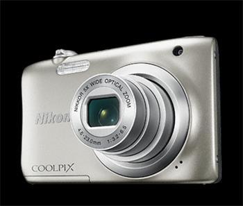 NIKON COOLPIX A100 - 20,1 MP, 5x zoom - Silver