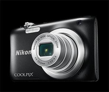 NIKON COOLPIX A100 - 20,1 MP, 5x zoom - Black