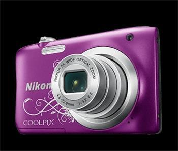 NIKON COOLPIX A100 - 20,1 MP, 5x zoom - Purple Lineart