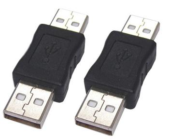PremiumCord USB redukce A-A, Male/Male