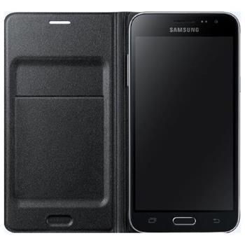Samsung flipové pouzdro s kapsou EF-WJ500B pro Samsung Galaxy J5 (SM-J500), černá