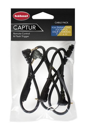 Hähnel Cable Pack P/Oly- kabely pro připojení Captur Pro Modul/Giga T Pro II