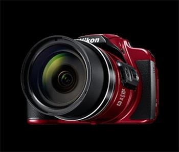 NIKON COOLPIX B700 - 20,3 MP, 60x zoom VR - Red