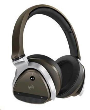 CREATIVE AURVANA GOLD bezdrátová sluchátka s mikrofonem, Bluetooth, NFC, náhlavní sluchátka, zlatá