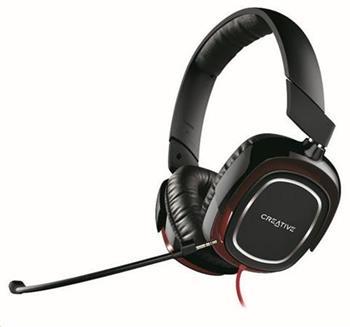 CREATIVE HS-880 DRACO gaming sluchátka s odnímatelným mikrofonem, konektor 3.5mm, pro hráče