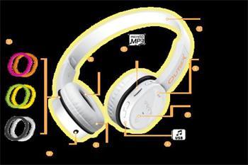 CREATIVE Outlier sluchátka BLACK, BLUETOOTH bezdrátová, integrovaný MP3 přehrávač, konektor 3.5mm nebo konektor USB (če