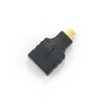 Kabel GEMBIRD red. HDMI na HDMI micro, zlacené kontakty, černá