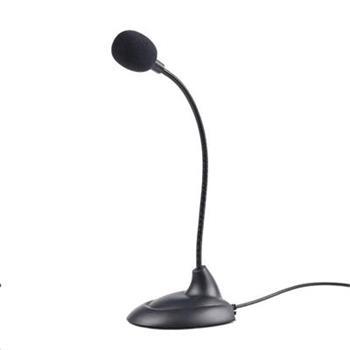 Mikrofon na stůl Gembird MIC-205, černý