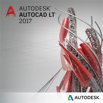 AutoCAD LT 2017 Commercial New Single-user ELD Annual Subscription with Advanced Support