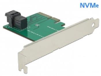 Delock PCI Express x4 Karta > 1 x interní SFF-8643 NVMe